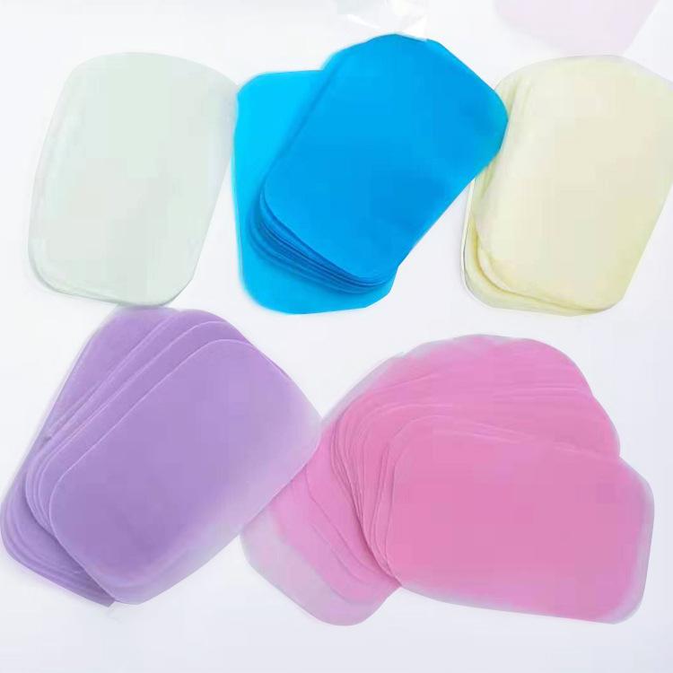厂家定制加工肥皂纸洗手片便携纸香皂