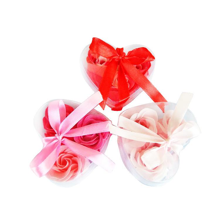 厂家加工纸香皂供应洗澡配方玫瑰香皂花头婚礼创意小礼物肥皂花