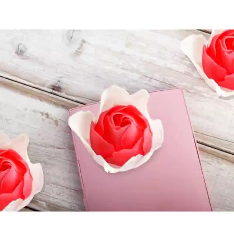 厂家加工肥皂花教师节情人节婚庆花型组合香皂玫瑰花颜色需求定制