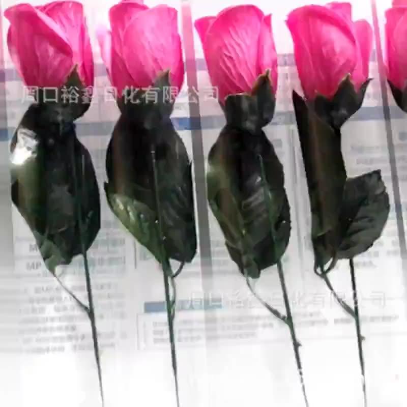 厂家供应潘通色卡号定制色香皂花玫瑰花束保湿滋润清洁加工肥皂纸
